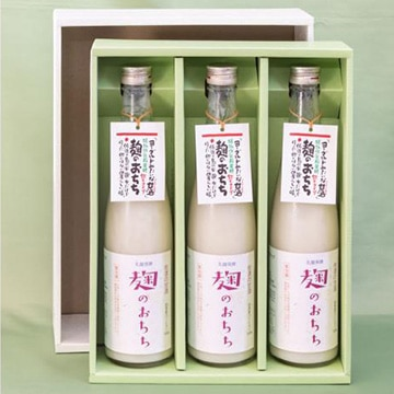 佐渡発酵 佐渡の甘酒 麹のおちち 飲むタイプ(480ml×3本)