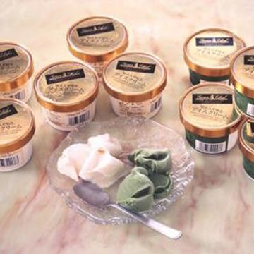 雪和商事 知る人ぞ知るアイスクリーム10個(バニラ・抹茶 各5個)