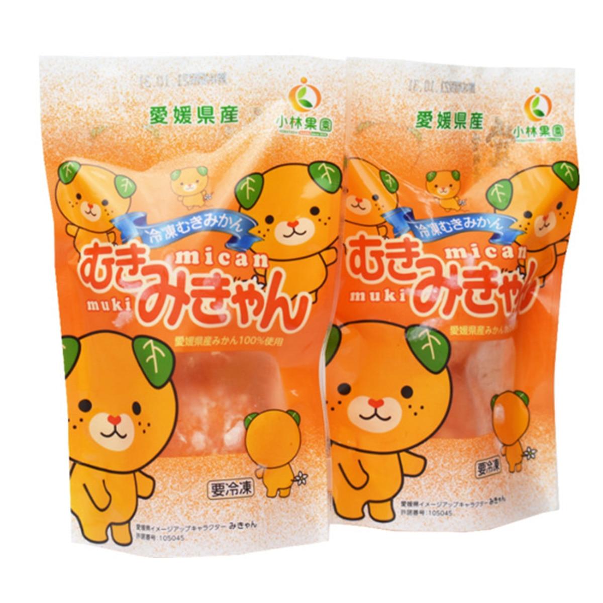 【送料無料】小林果園 むきみきゃん (冷凍むきみかん 2個入り×8袋)