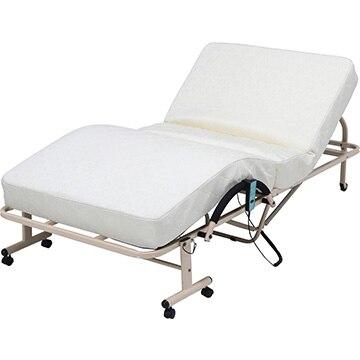 不二貿易 折たたみ電動ベッド 高床タイプ FU-05-7H 14746