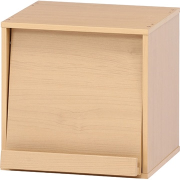 不二貿易 キューブボックス フラップ扉 NA 99892