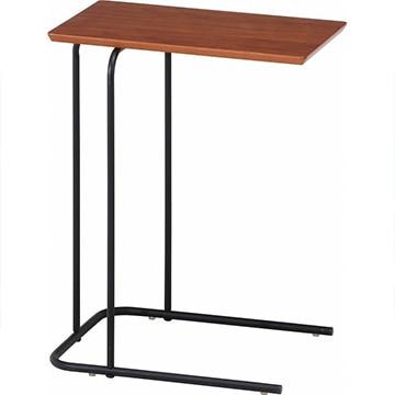 不二貿易 突板サイドテーブル 12519