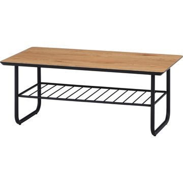 不二貿易 リビングテーブル クレブ(棚付キ) 18059