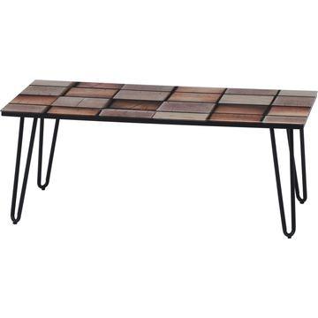 不二貿易 ガラスリビングテーブル クレブ 18376