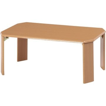 不二貿易 ローテーブル ウッディ 7550 LBR 7550LBR 10025