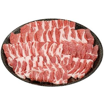 ミヤチク 【ブランドおいも豚】 おいも豚肩ロース焼肉 800g