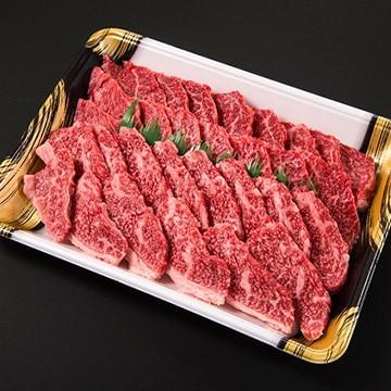 Kanzaki 門崎熟成肉 焼肉セット(カルビ&モモ:500g) KZyakiniku-rib-round