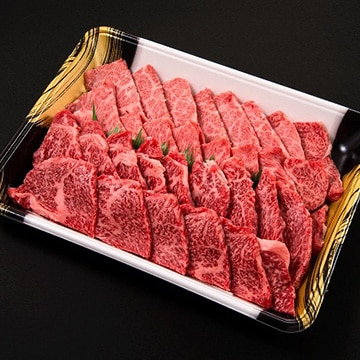 Kanzaki 門崎熟成肉 焼肉 特選セット(特選カルビ&特選モモ:500g) KZyakiniku-prime-rib-round