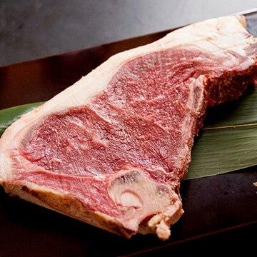 Kanzaki 門崎熟成肉 ステーキ Lボーン(国産牛:350g~450g×1枚) KZstake-l-bone-holstein