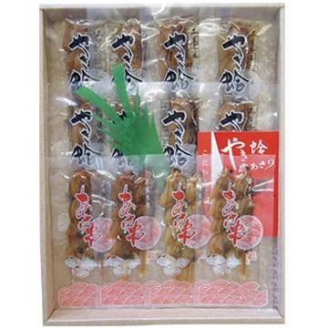 株式会社正上 (2017年日本ギフト大賞受賞商品) 焼蛤あさり串詰め合せ(焼蛤1串×8袋 あさり串2串×4袋)