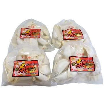 ハマトミ食品 横浜餃子ピリ辛 100個(25個×4袋セット)