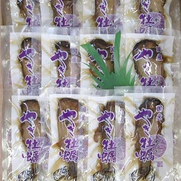 株式会社正上 国産焼牡蠣(内容量:1串×12袋)