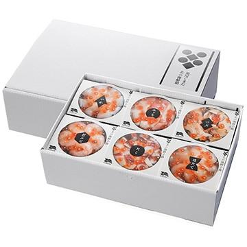 ギフト商社 株式会社FUJI 北の海鮮小鉢(6食セット)