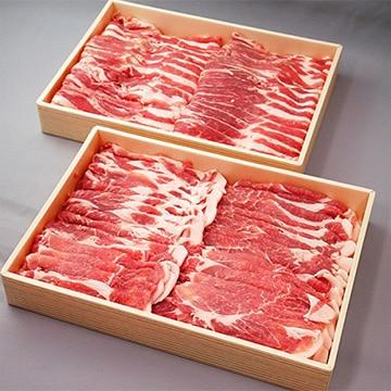 JA全農いばらき 銘柄豚肉ローズポーク肩ロース&バラスライスセット