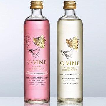 株式会社ライズワン ノンアルコール・ワインウォーター O.VINE スパークリング (赤6本・白6本)