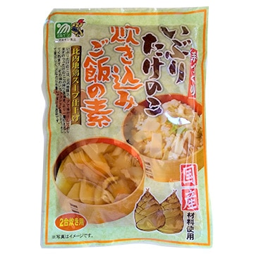 株式会社マルイシ食品 (お試し)いぶりたけのこ 炊き込みご飯の素 2合用 濃縮タイプ 比内地鶏スープ仕立て