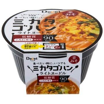 寿マナック株式会社 こんにゃく麺 ミカタゴハン ライトヌードル 辛みそ(12個入)
