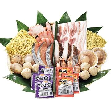 ギフト商社 株式会社FUJI 海鮮二色鍋セット