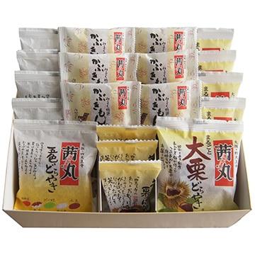 株式会社 茜丸 人気4種の詰合せ(どらやき他 19個入)