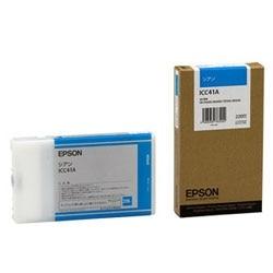 EPSON インクカートリッジ シアン 220ml ICC41A