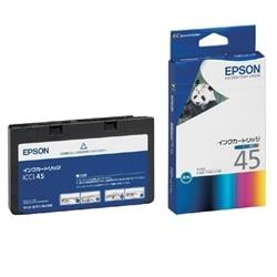 EPSON インクカートリッジ カラー4色一体型 ICCL45