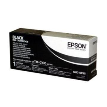 EPSON TM-C100モノクロモデル専用インクカートリッジ SJIC10PK
