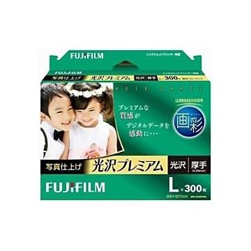 FUJIFILM 画彩 写真仕上げ 光沢プレミアム L 300枚 WPL300PRM
