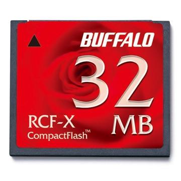 BUFFALO コンパクトフラッシュ ハイコストパフォーマンスモデル 32MB RCF-X32MY