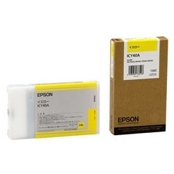 EPSON インクカートリッジ イエロー 110ml ICY40A