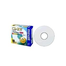 maxell データ用CD-RW 4x 700MB 1枚ずつPケース入10P CDRW80PW.S1P10S