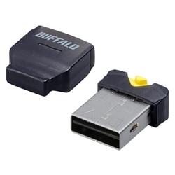 バッファロー カードリーダー/ライター microSD対応 コンパクト ブラック BSCRMSDCBK