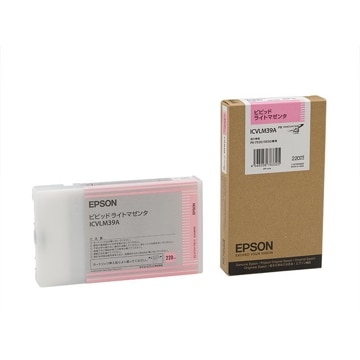 EPSON インクカートリッジ ビビッドライトマゼンタ 220ml ICVLM39A