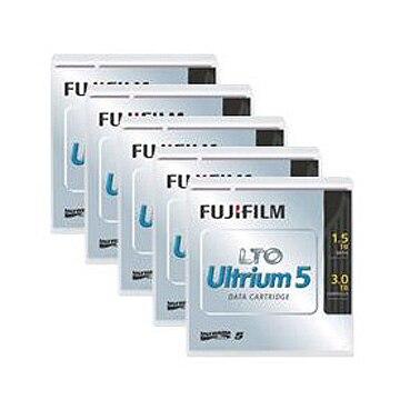 FUJIFILM LTO5カートリッジ 1.5/3TB 5巻パック LTOFBUL-51.5TJX5