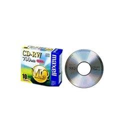 maxell データ用CD-RW 700MB 1-4x 10P CDRW80MQ.S1P10S