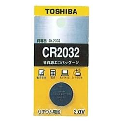 TOSHIBA コイン形リチウム電池 CR2032EC