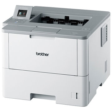 ブラザー A4モノクロレーザープリンター 50PPM/両面印刷/WLAN HL-L6400DW