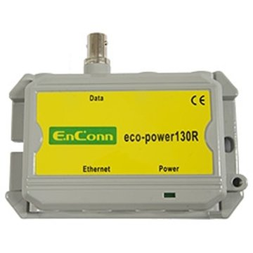 eco-power130R (BNC) PoE Ext over Coax
