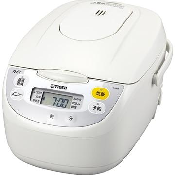 タイガー魔法瓶 マイコン炊飯ジャー 1升 ホワイト JBH-G181W
