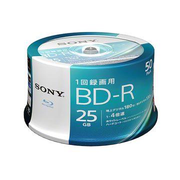 SONY ビデオ用BD-R 25GB 4X プリンタブル 50SP 50BNR1VJPP4