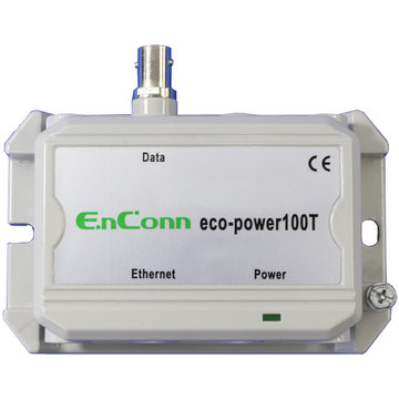 eco-power100T (BNC) PoE Ext over Coax