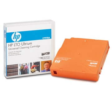 HP LTO Ultrium ユニバーサル クリーニングカートリッジ C7978A