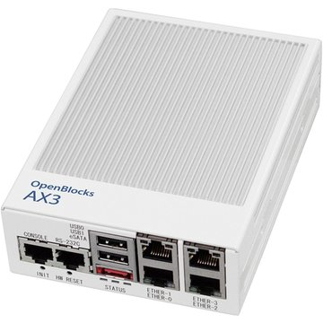<ひかりTV>【送料無料】OpenBlocks AX3 イーサ4ポート DPパッケージ Java8 OBSAX3/4/D7/DPJ8画像