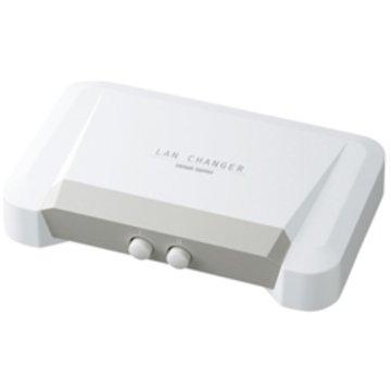 SANWASUPPLY LAN切替器(2回路) SW-LAN21