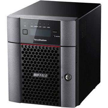 BUFFALO 10GbE 法人向け 4ドライブNAS 8TB TS5410DN0804