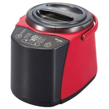 タイガー魔法瓶 精米器(無洗米機能つき) 1~5合炊き レッド RSF-A100R