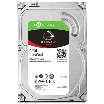SEAGATE 3.5インチ内蔵HDD 4TB SATA6Gb 5.9K 64MB ST4000VN008