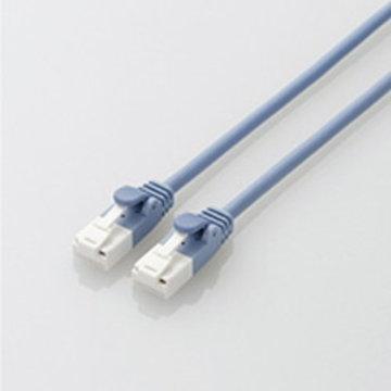 ELECOM やわらかLANケーブル/CAT6A/爪折防/3m/ブルー LD-GPAYT/BU30