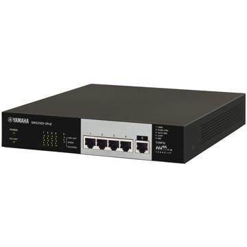 YAMAHA シンプルL2スイッチ 5ポート PoE給電対応 SWX2100-5PoE
