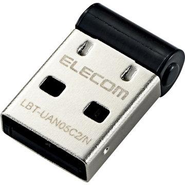 エレコム Bluetooth USBアダプタ/PC用/V4/CL2/ブラック LBT-UAN05C2/N