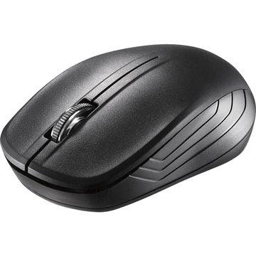 BUFFALO 無線IR LEDマウス 3ボタン 簡易パッケージ ブラック BSMRW21BKZ